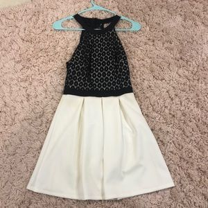 halter flowy dress